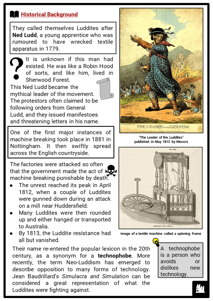 Luddites Resource Collection 2