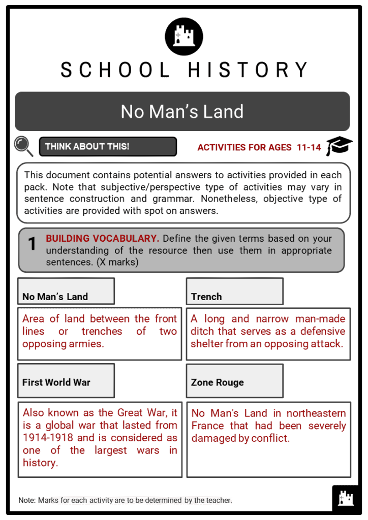 No Man_s Land Student Activities & Answer Guide 2