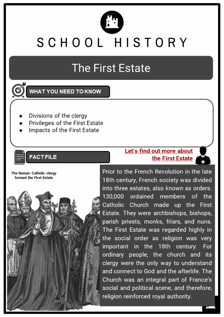 The First Estate Resource Collection 1