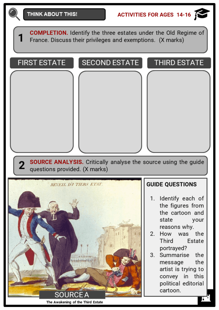 The Third Estate Student Activities & Answer Guide 3
