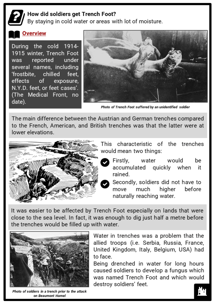 Trench Foot Resource Collection 2
