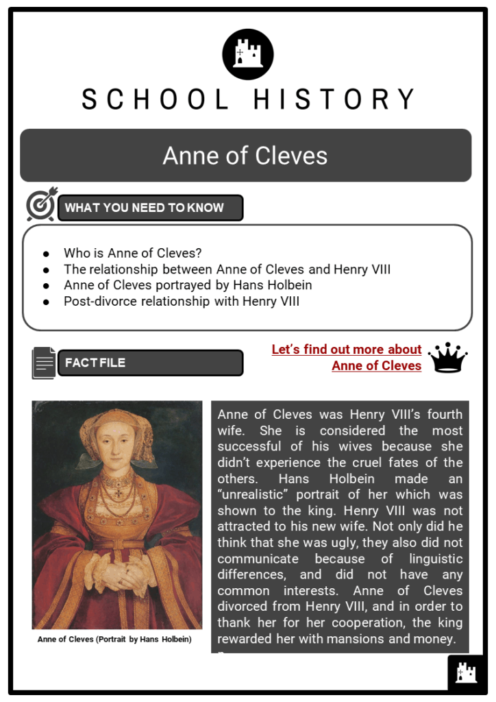 Anne of Cleves Resource Collection 1
