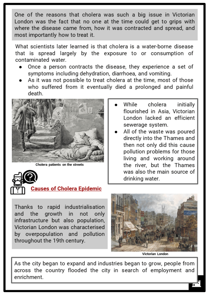 Cholera Epidemics in Victorian London Resource Collection 2