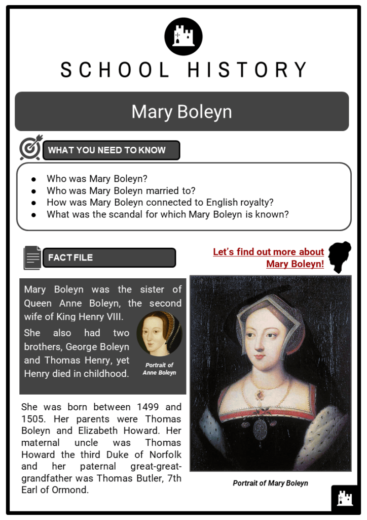 Mary Boleyn Resource Collection 1