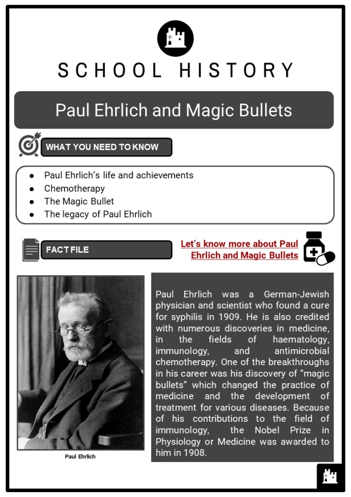 Paul Ehrlich and Magic Bullets Resource Collection 1