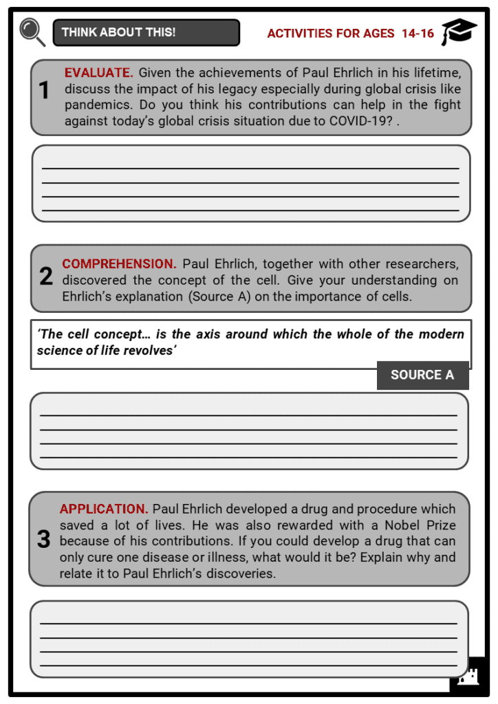 Paul Ehrlich and Magic Bullets Student Activities & Answer Guide 3
