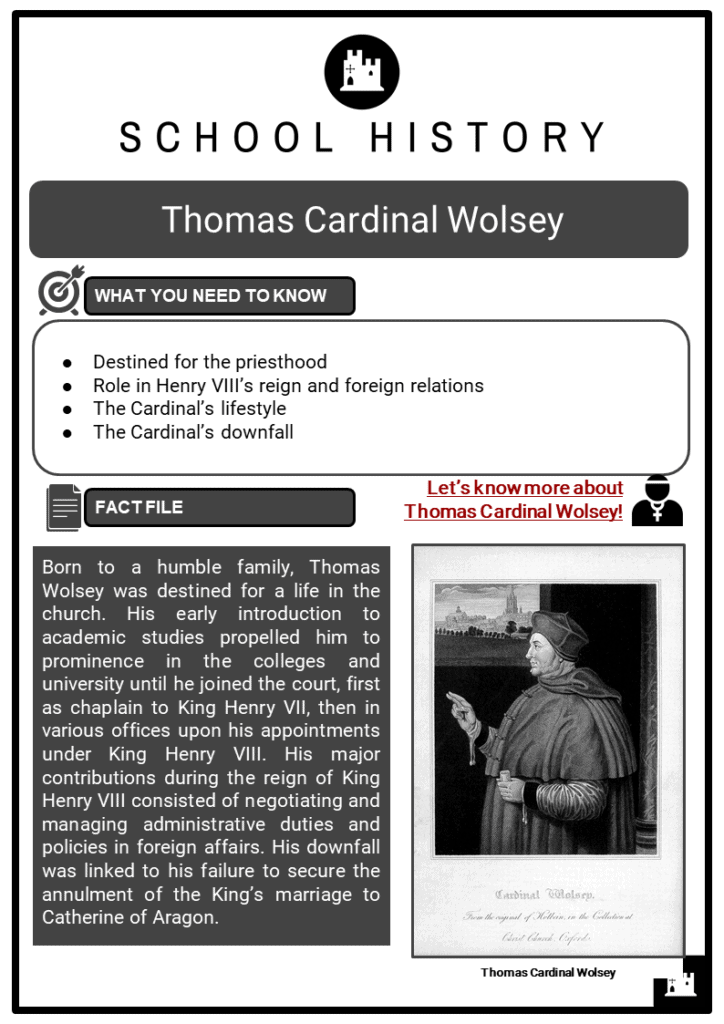 Thomas Cardinal Wolsey Resource Collection 1