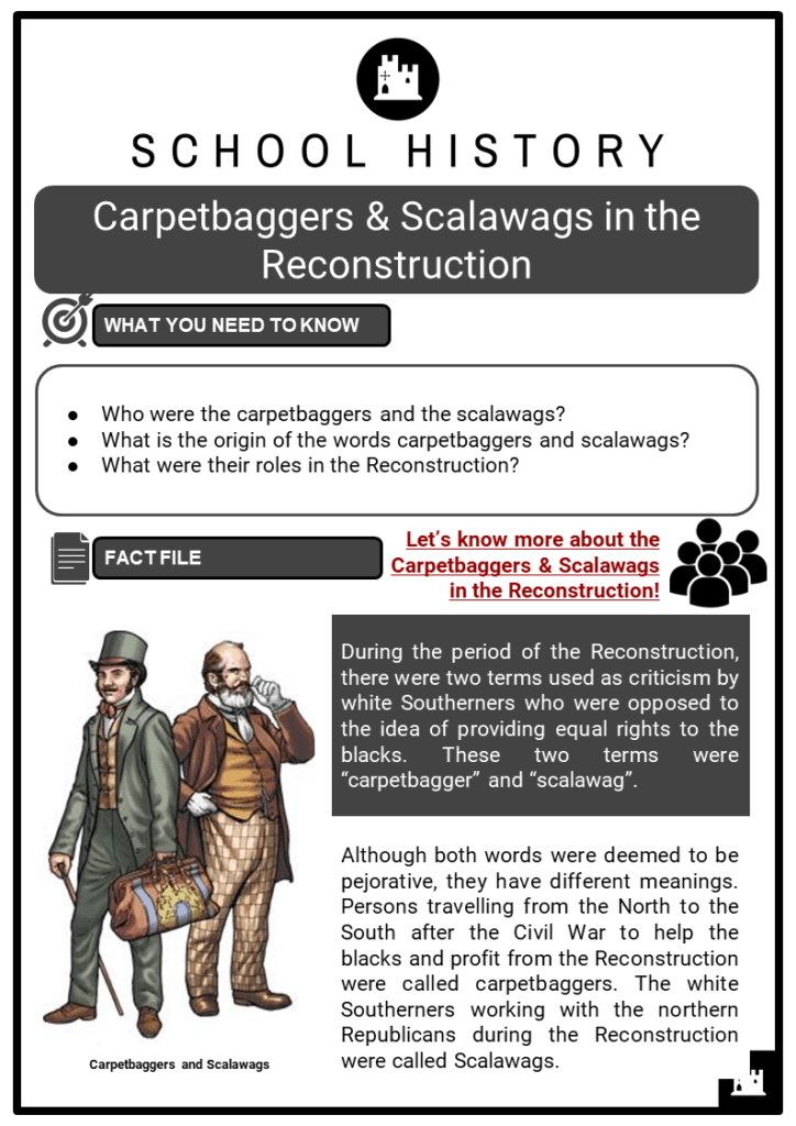 Carpetbaggers & Scalawags in the Reconstruction Resource Collection 1
