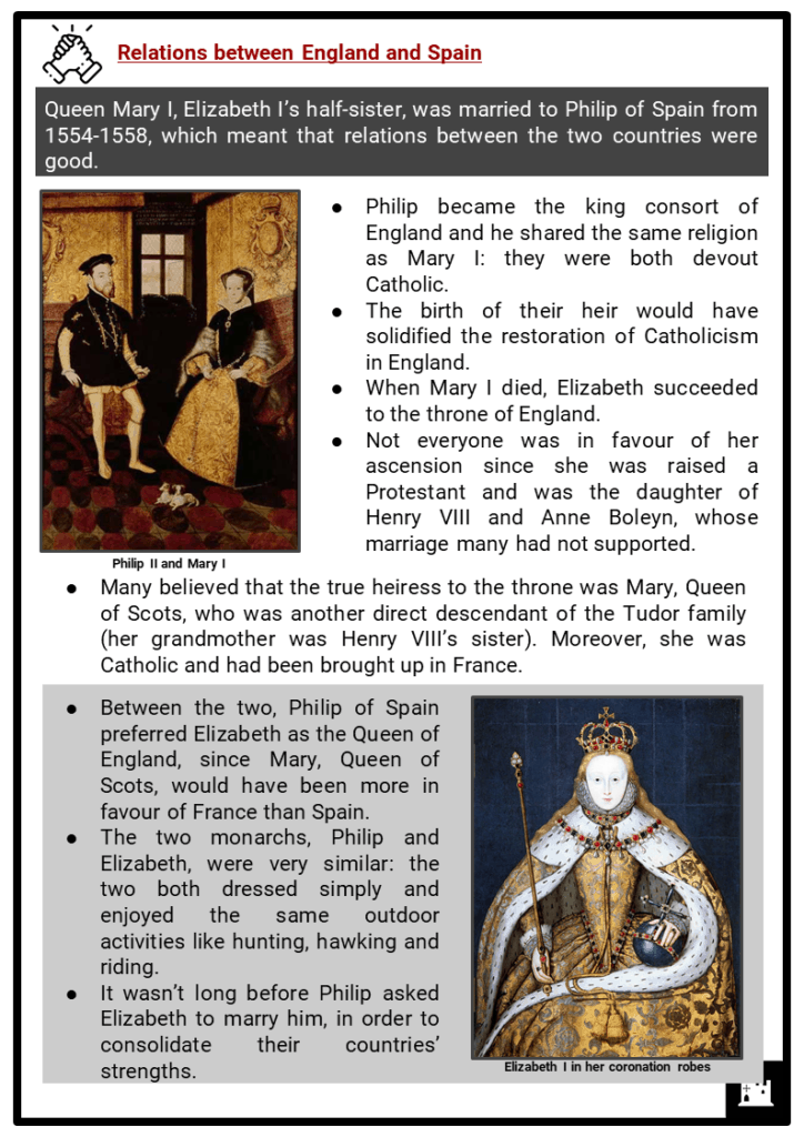 Elizabeth I and Spain Resource Collection 2