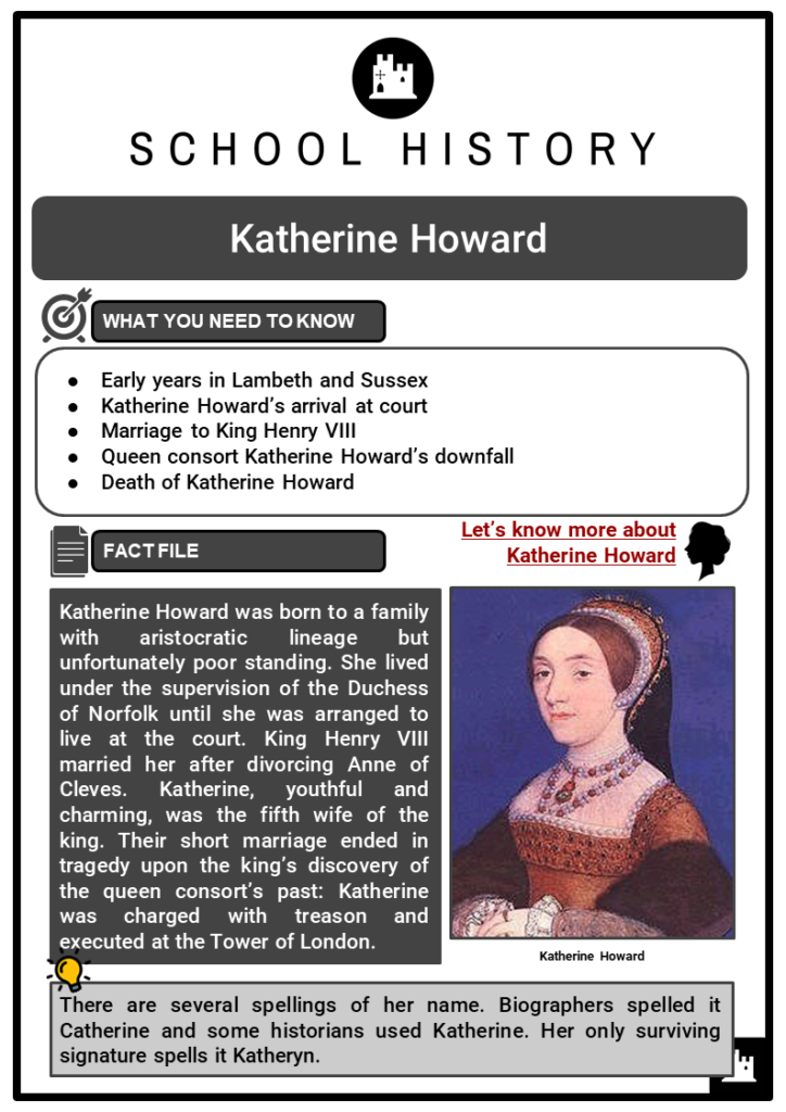Katherine Howard Resource Collection 1