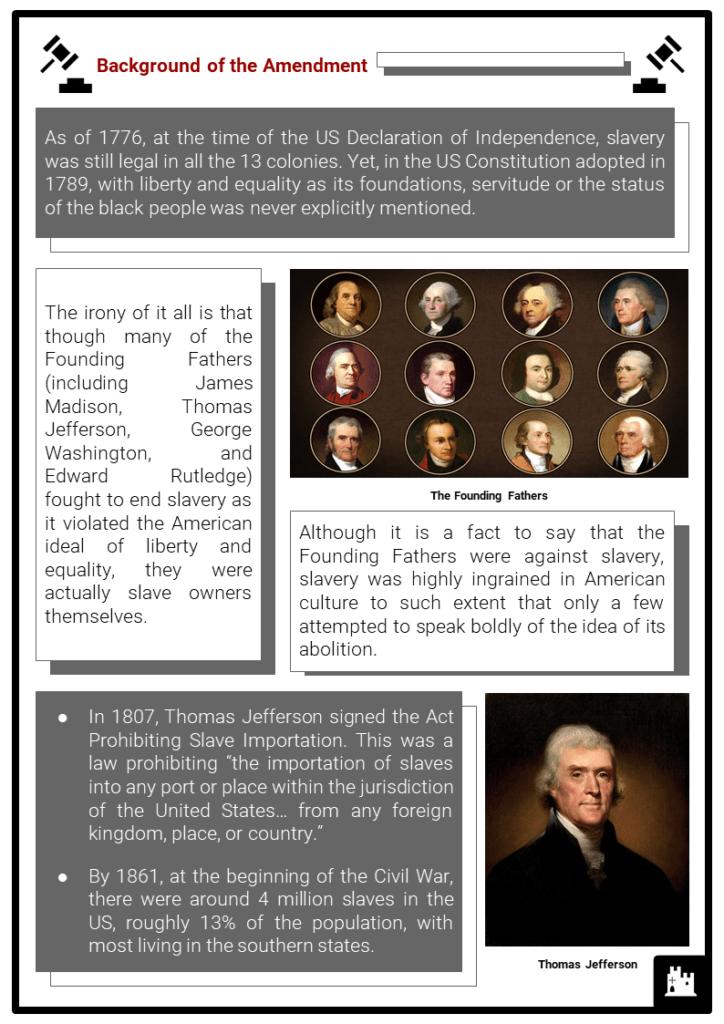 Thirteenth Amendment Resource Collection 2