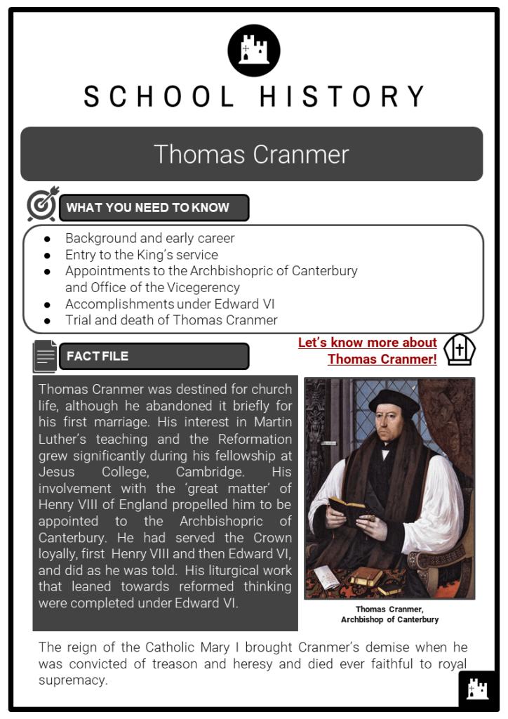 Thomas Cranmer Resource Collection 1
