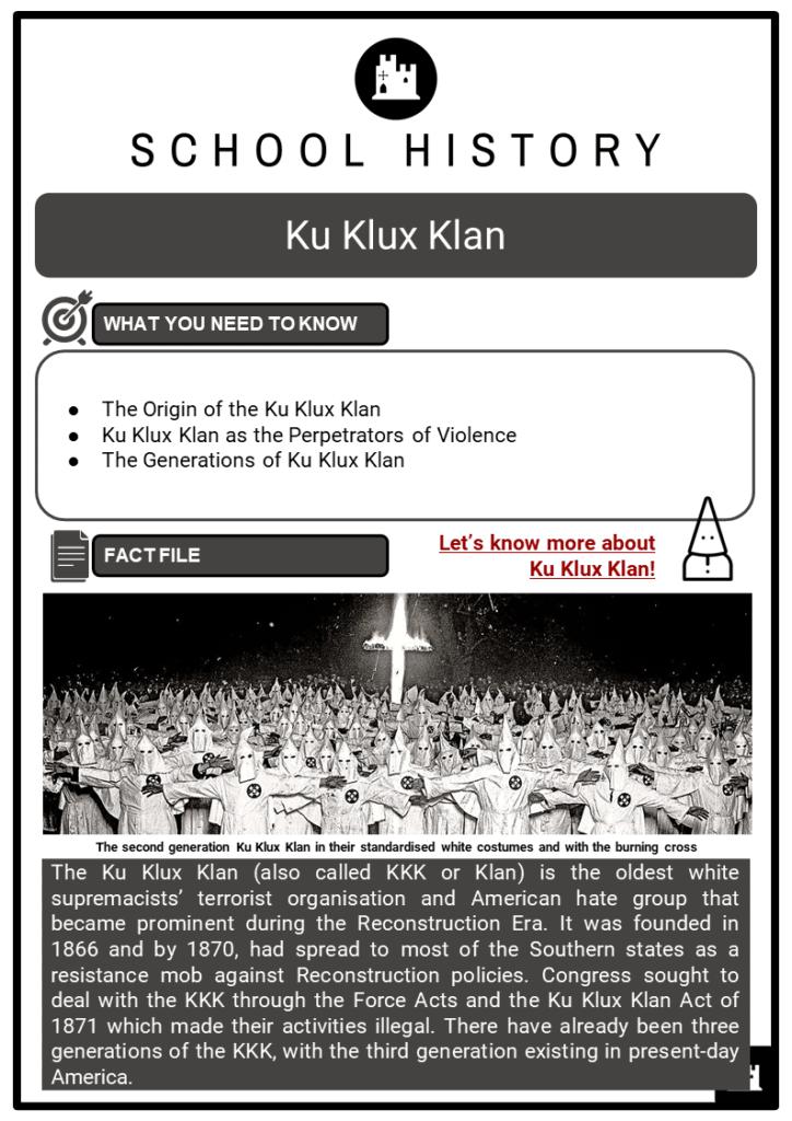 Ku Klux Klan Resource Collection 1