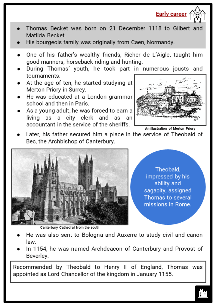 Thomas Becket Resource Collection 2