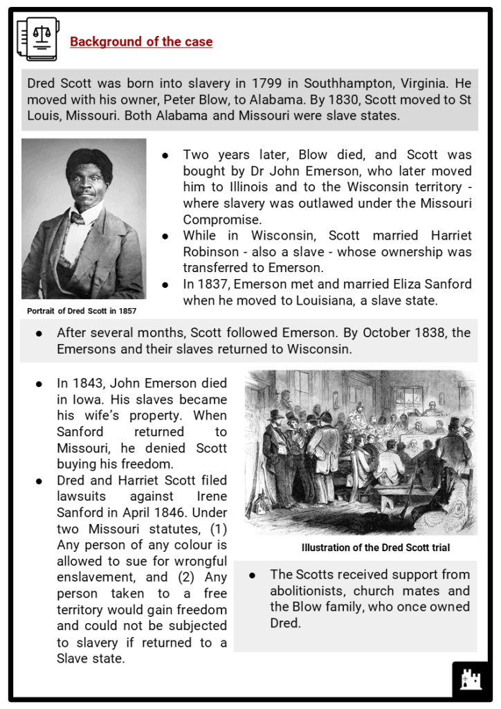 The Dred Scott Decision Resource Collection 2