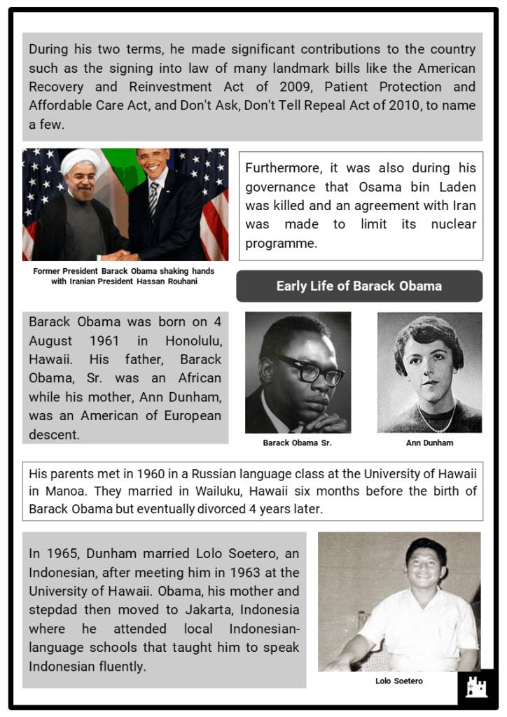 Barack Obama Resource Collection 2