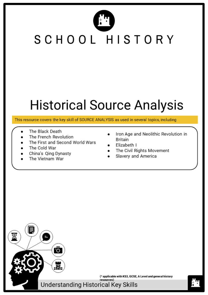 Historical Key skill_Historical Source Analysis Printout