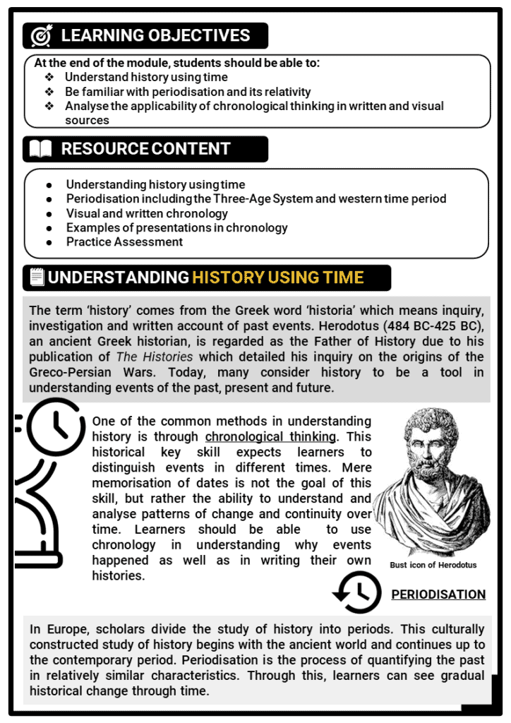 Key skill_Chronological Thinking Printout 1