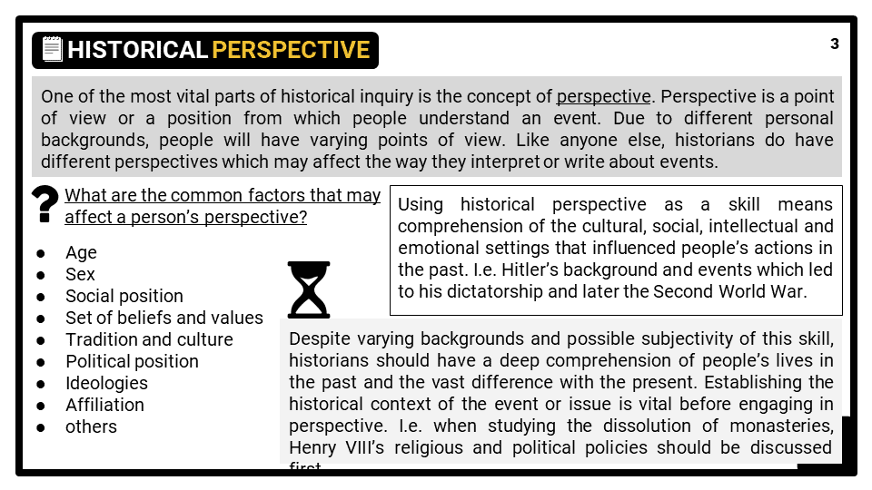 Key skill_Historical Perspective and Interpretation Presentation 1