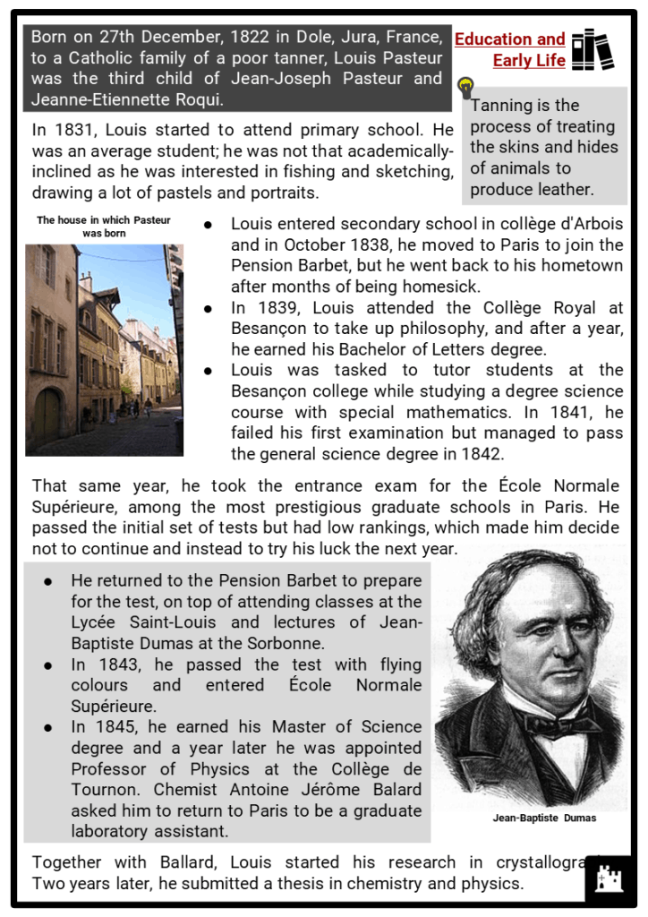 Louis Pasteur Resource Collection 2