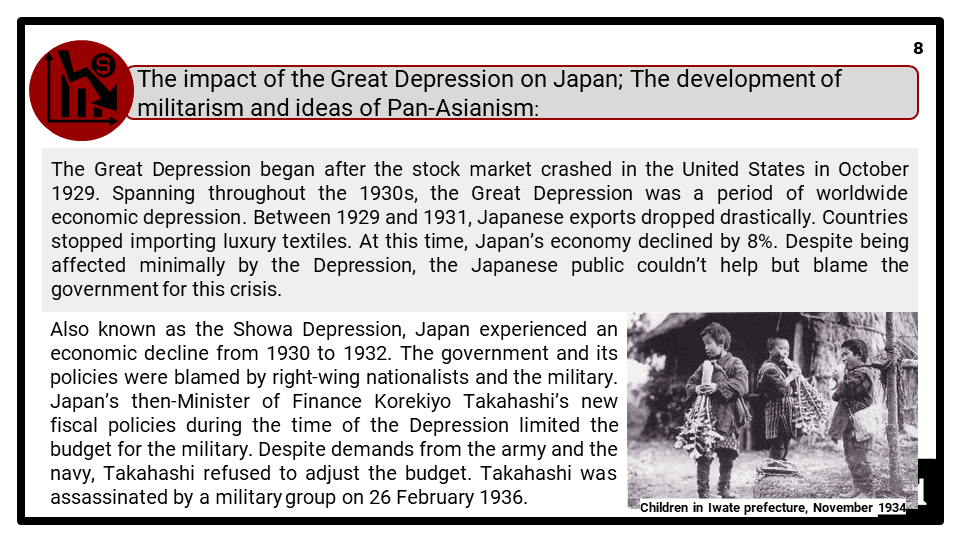 A Level The growth of nationalism in Japan 1920-1937 Presentation 4
