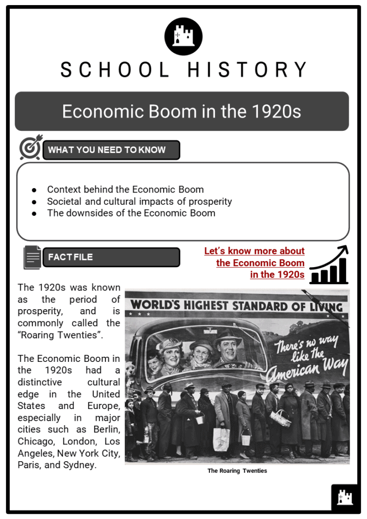 Economic Boom in the 1920_s Resource Collection 1