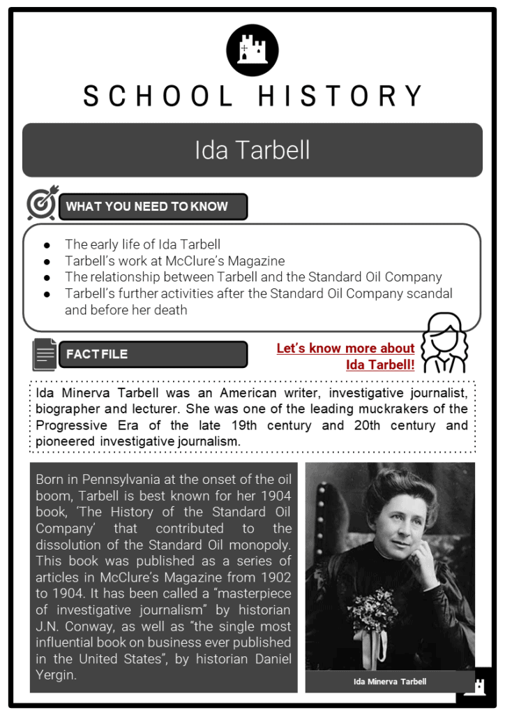 Ida Tarbell Resource Collection 1
