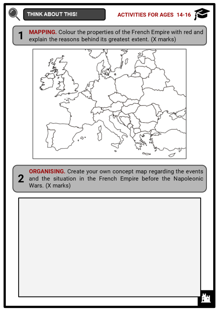 Napoleonic Wars Student Activities & Answer Guide 3