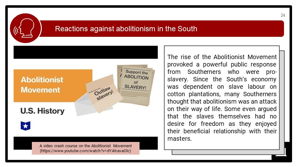 Origins of the American Civil War, c1845-1861 Presentation 3