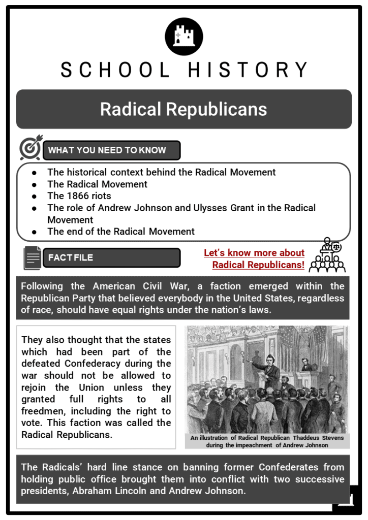 Radical Republicans Resource Collection 1