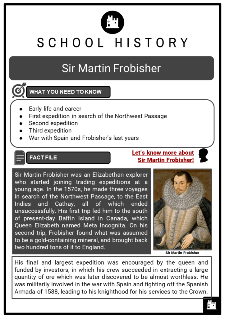 Sir Martin Frobisher Resource Collection 1