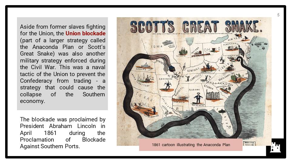 The American Civil War, 1861-1865 Presentation 2