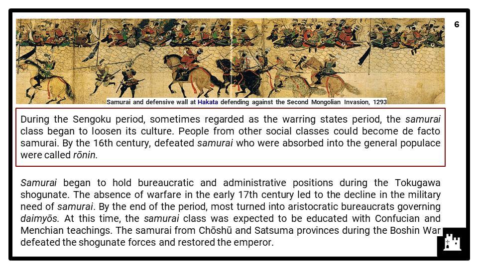 Westernisation and nationalism in Meiji Japan 1868-1912 Presentation 2