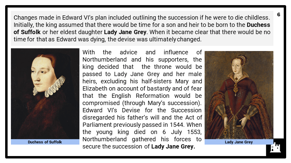 A Level Edward VI, 1547-1553 Presentation 2