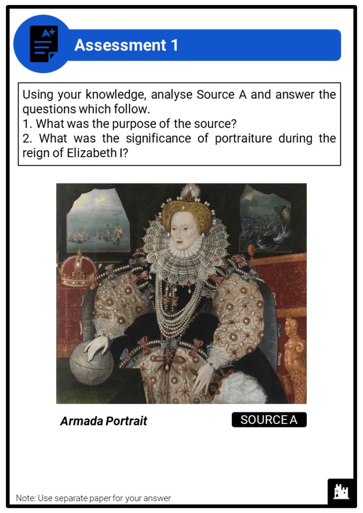 A Level Elizabethan England, 1558-1603 Assessment 1