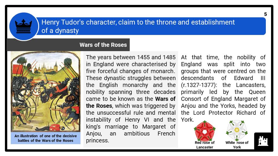 A Level Henry VII, 1485-1509 Presentation 1