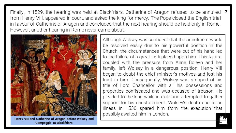 A Level Henry VIII, 1509-1547 Presentation 3
