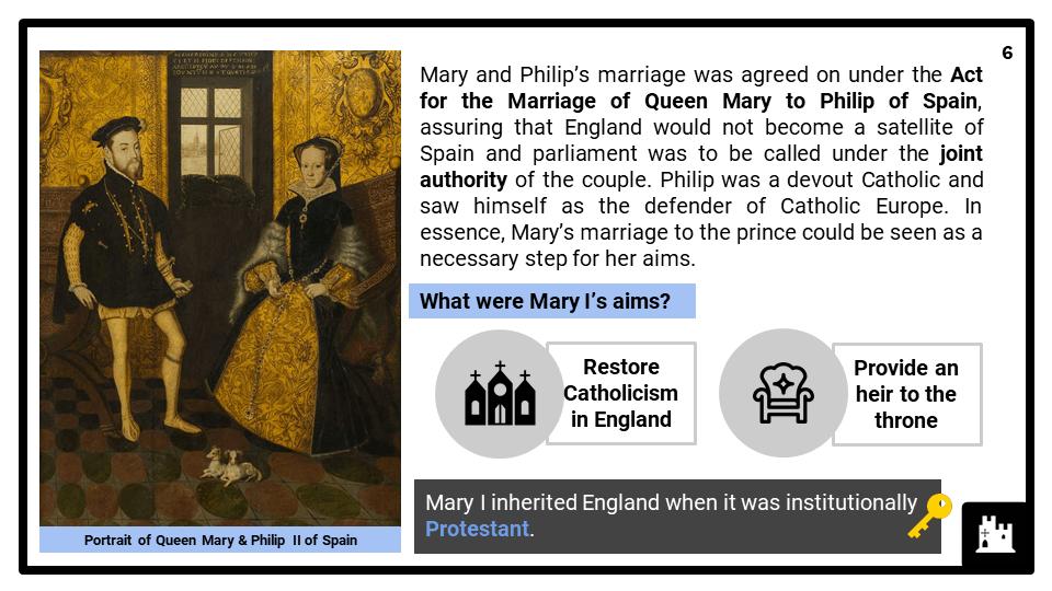 A Level Mary I, 1553-1558 Presentation 2