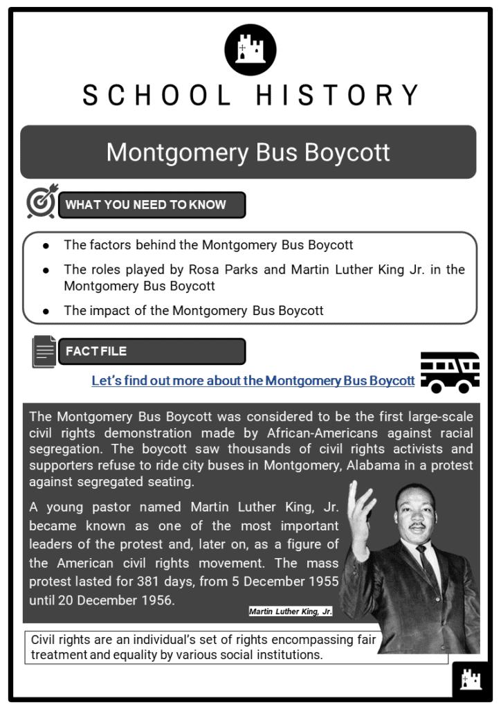 Montgomery Bus Boycott Resource Collection 1
