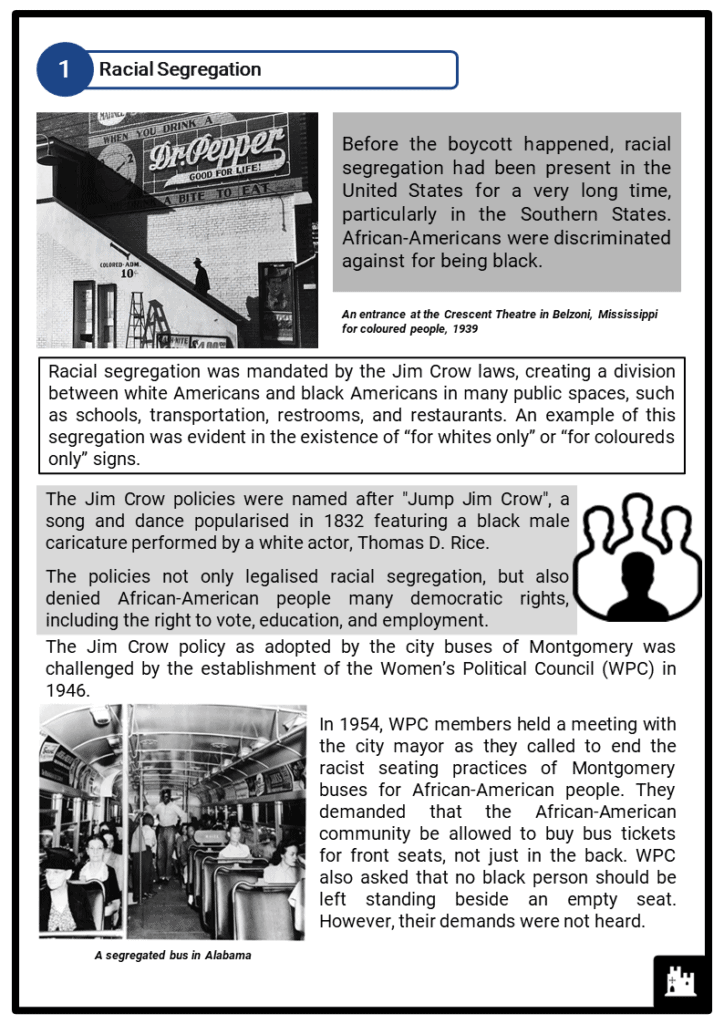 Montgomery Bus Boycott Resource Collection 2