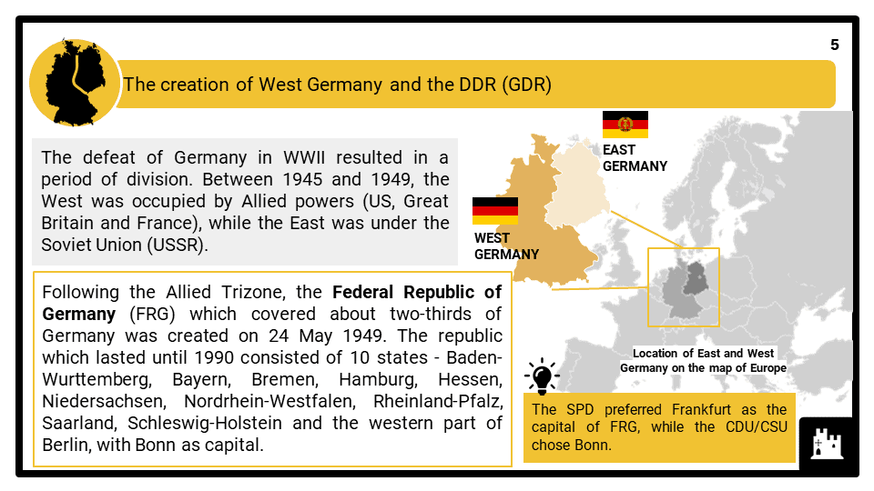 A Level Divided Germany_The Federal Republic and the DDR 1949-196 Presentation 1