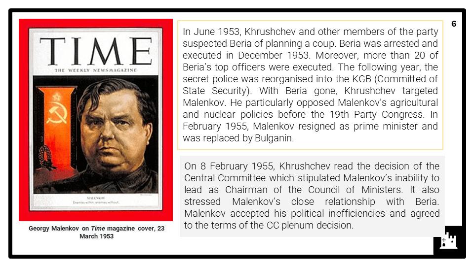 A Level Khrushchev and the USSR, 1956-64 Presentation 2