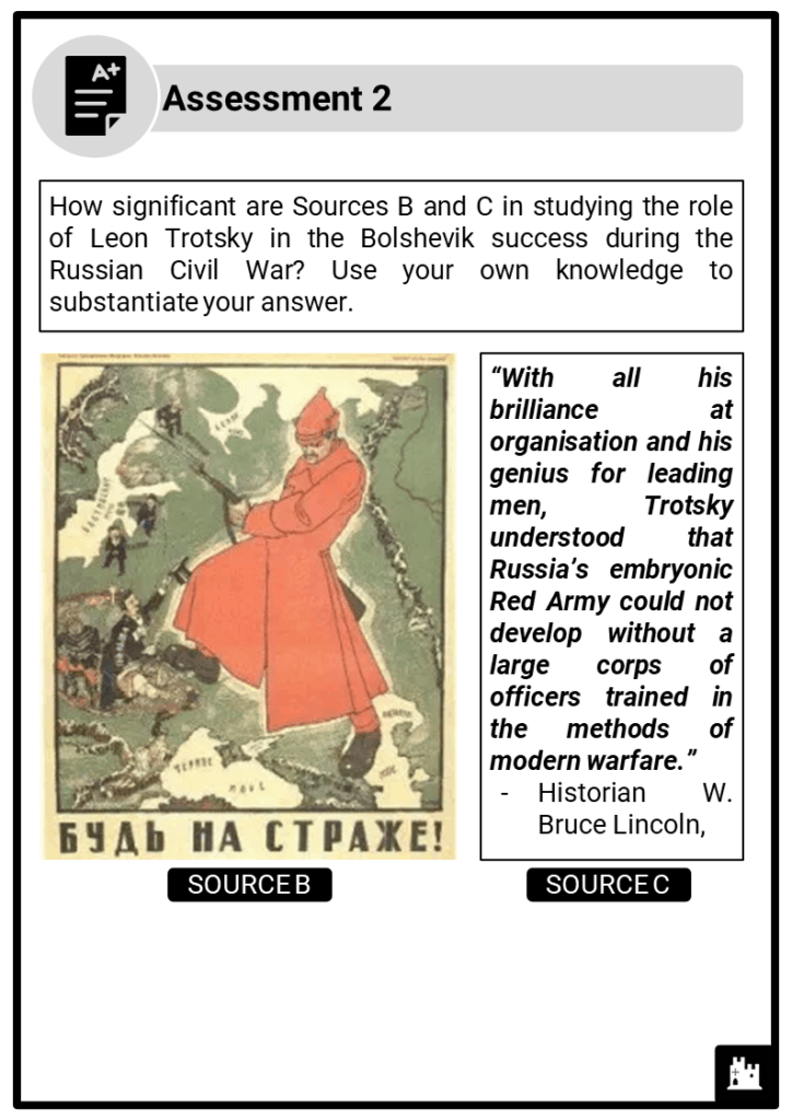 A Level Lenin Society, 1917-1924 Assessment 2