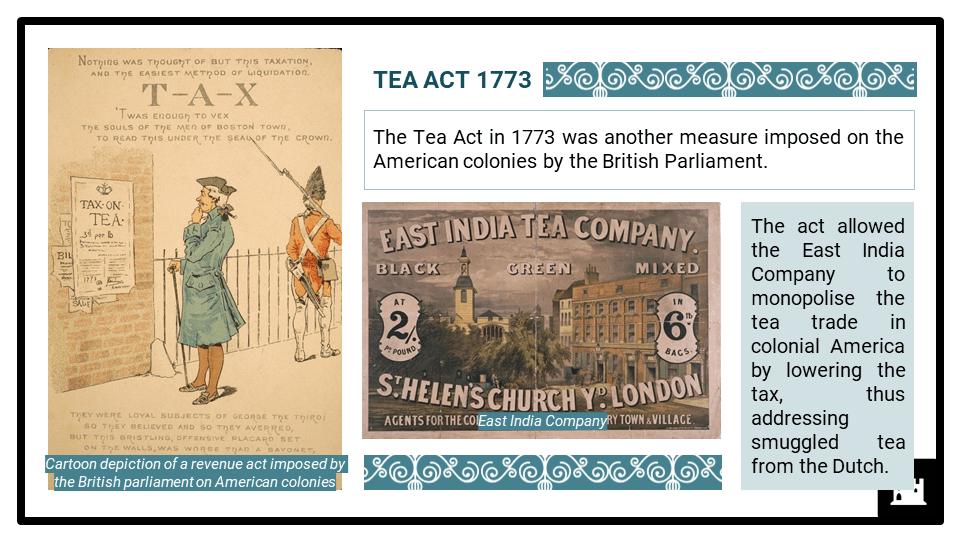 A Level Origins of the American Revolution 1760-1776 Presentation 3