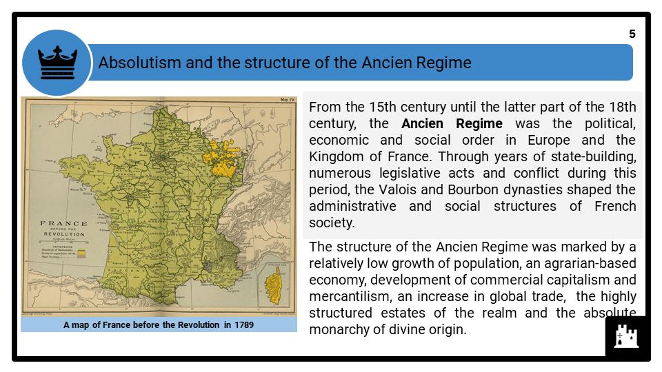 A Level Origins of the French Revolution, 1774-1792 Presentation 1