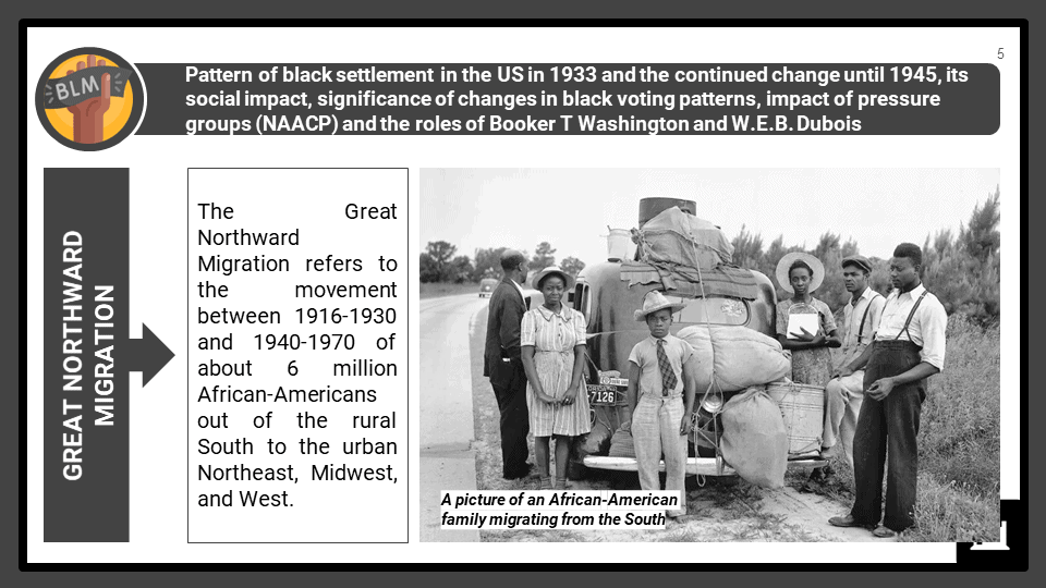 A Level Roosevelt and race relations, 1933-45 Presentation 1