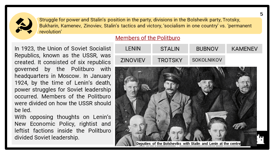 A Level Stalin and the USSR, 1924-1953 Presentation 1