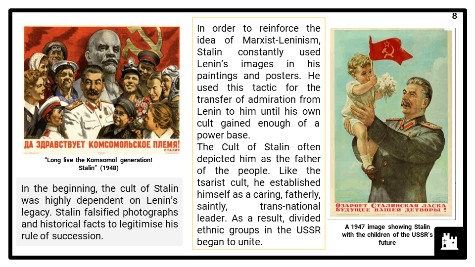 A Level Stalin and the USSR, 1924-1953 Presentation 4