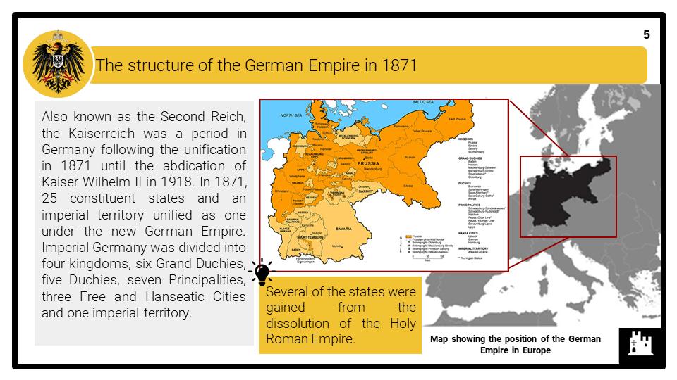A Level The Kaiserreich, 1871-1914 Presentation 1