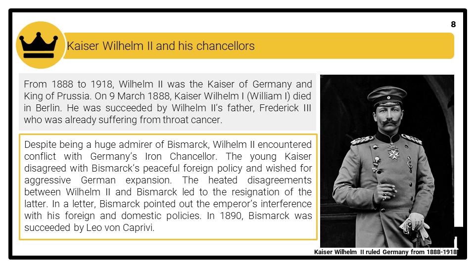 A Level The Kaiserreich, 1871-1914 Presentation 4
